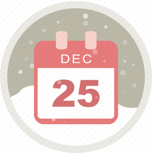 calendar, christmas, date, event, holiday, schedule icon