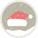 celebration, christmas, holiday, party, redhat, snow, xmas icon