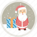 cauls, christmas, gift, holiday, present, sanda, xmas icon