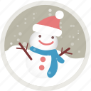 christmas, holiday, holidays, snow, snowman, winter, xmas icon