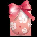 easter, egg, ribbon icon
