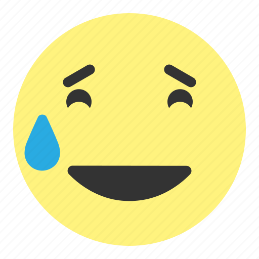 emoji, face, fun, funny, happy, hovytech, smile icon