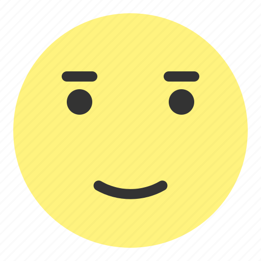 emoji, face, glad, happy, hovytech, love, smile icon