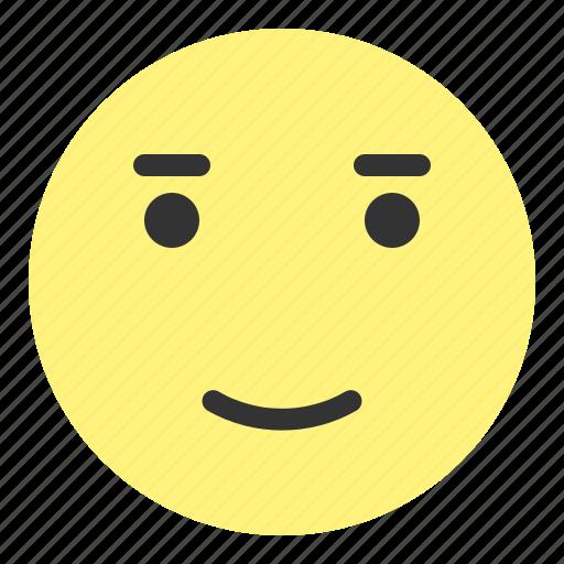 emoji, face, glad, happy, hovytech, love, smile icon