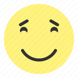 emoji, face, greatful, happy, hovytech, joy, really icon