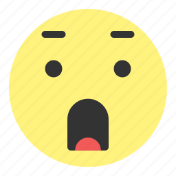 emoji, face, hovytech, scared, shocked, smile, unbelievable icon