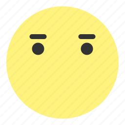 emoji, face, happy, hovytech, mouth, sad, speechless icon