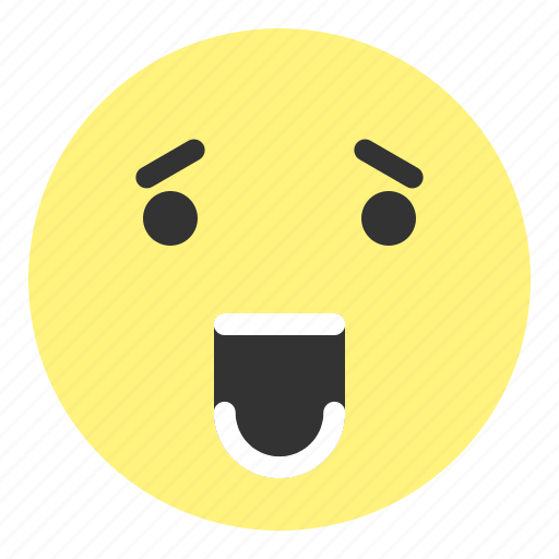 emoji, face, hovytech, love, sad, surprised, teeth icon