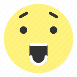 emoji, face, happy, hovytech, teeth, unbelievable, worried icon