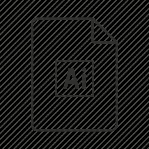 .ai, adobe illustrator, adobe illustrator file, ai document, ai file, ai file icon, ai icon icon - Download on Iconfinder
