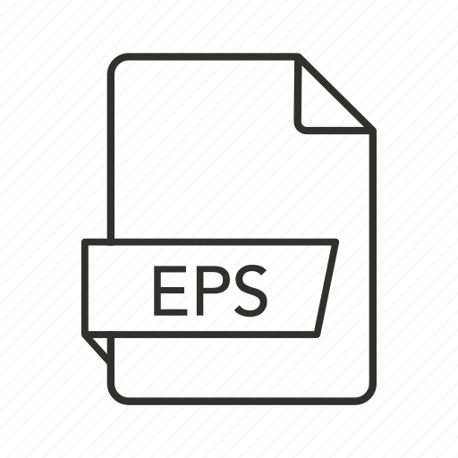 Encapsulated postscript vector file, encapsulated postscript vector graphics, eps document, eps file, eps file icon, eps icon, eps icon - Download on Iconfinder