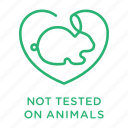 cruelty free, no animal testing, not tested on animals, rabbit, vegan