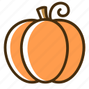 autumn, food, fruit, halloween, pumpkin, vegetable icon
