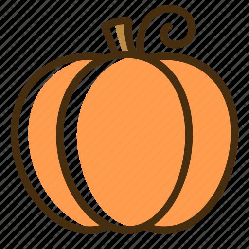 autumn, food, fruit, halloween, pumpkin, vegetable icon