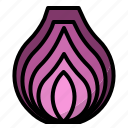 onion, slice icon