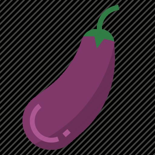 aubergine, eggplant icon