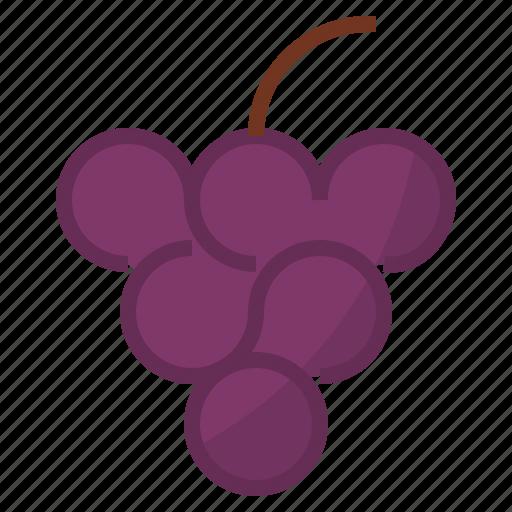 berry, grape icon