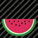 melon, watermelon icon