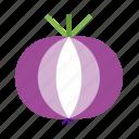 fruit, onion, vegetables, yangcong icon