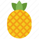 fruit, pineapple, vegetables icon