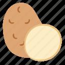 fruit, potato, spud, vegetables icon