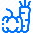 bell pepper, carrot, food, foodstuff, healthy, nature, vegetable icon