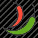 chili, food, healthy, vegan, vegetable icon