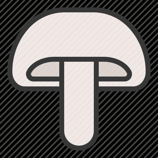 food, healthy, mushroom, vegan, vegetable icon