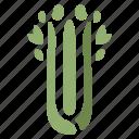 celery, cooking, food, healthy, ingredient, vegetable, vegetarian icon