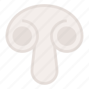 food, healthy, mushroom, vegan, vegetable icon