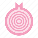food, half onion, healthy, vegan, vegetable icon