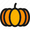 food, halloween, healthy, organic, pumpkin, vegetable, vegetables icon