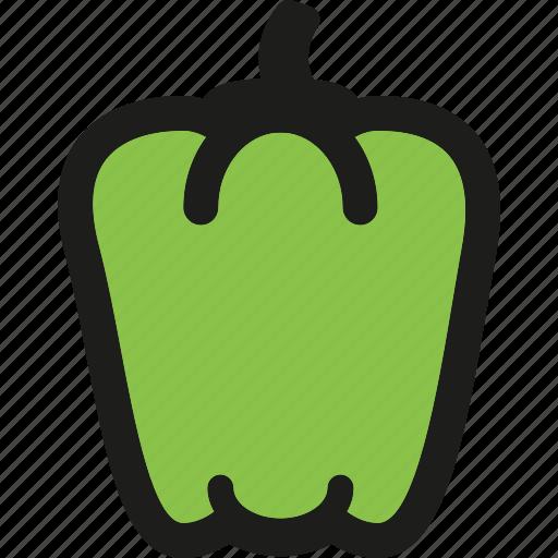 food, healthy, organic, pepper, sweet, vegetable, vegetables icon