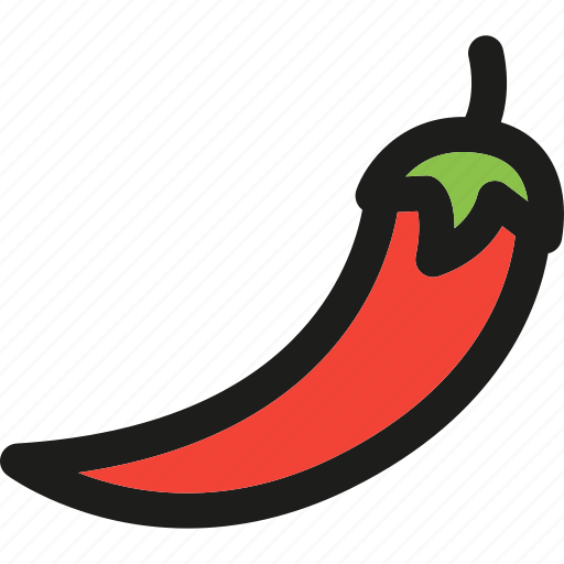 chili, food, healthy, organic, pepper, vegetable, vegetables icon