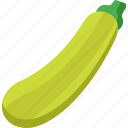food, healthy, organic, vegetable, vegetables, zucchini icon