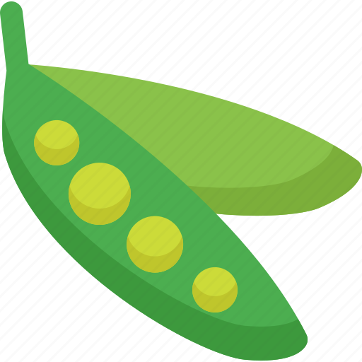 food, healthy, organic, pea, peas, vegetable, vegetables icon