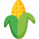 agriculture, corn, food, healthy, organic, vegetable, vegetables icon