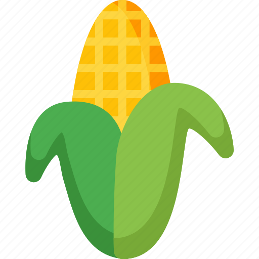 Corn, agriculture, food, healthy, organic, vegetable, vegetables icon - Download on Iconfinder