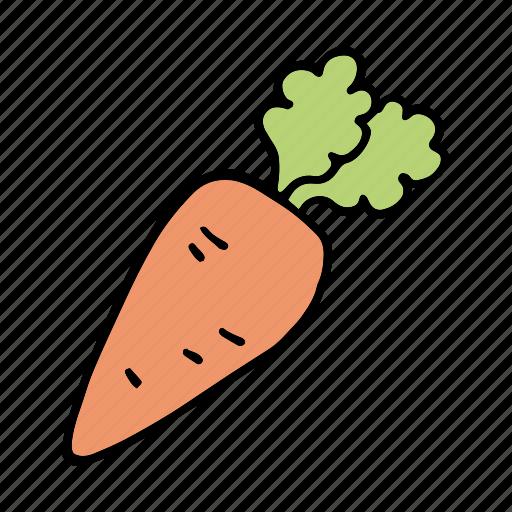bunny, carrot, cook, food, ingredient, vegetable, veggie icon