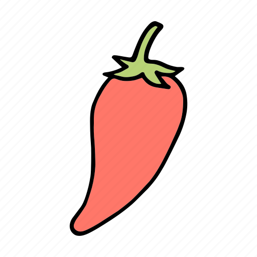 chili, cook, food, ingredient, pepper, vegetable, veggie icon