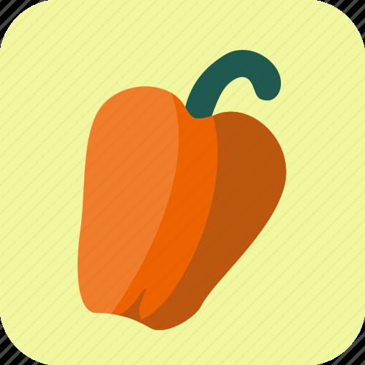 bell, food, pepper, sweet, vegetable icon