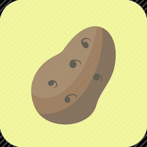 food, potato, tuber, vegetable icon