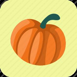 food, pumpkin, squash, vegetable icon