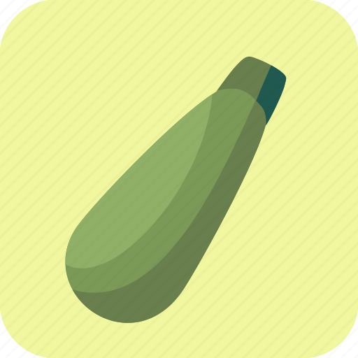 courgette, food, vegetable, zucchini icon