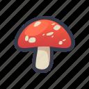cooking, food, mushroom, vegetables icon