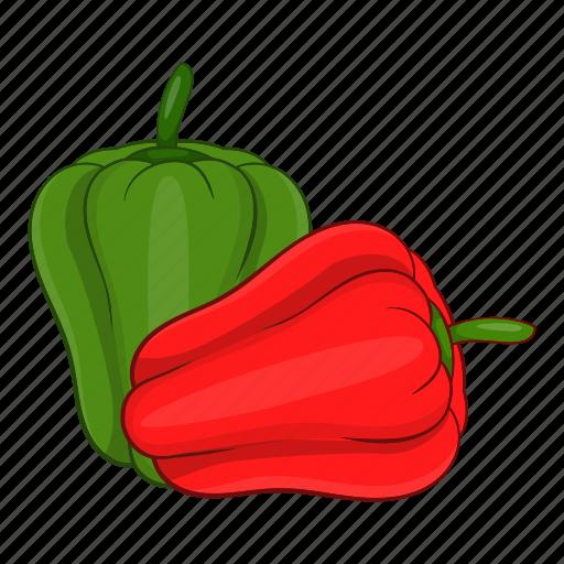 cartoon, food, paprika, pepper, tasty, vegetarian icon