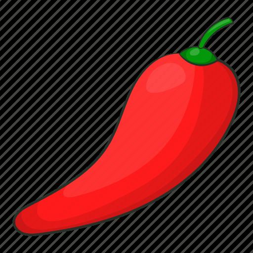 cartoon, chili, chilli, food, pepper, realistic, white icon