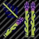 asparagus, food, greens, raw food, vegetables, veggie icon