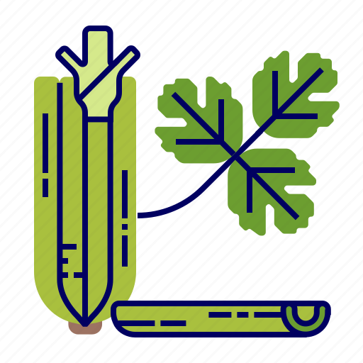 celery, food, greens, raw food, vegetables, veggie icon