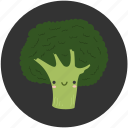 ambrosial, broccoli, brocoli, cartoon, clean food, ingredient, vegetable icon